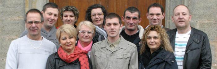 Les élus de la mairie de Gevigney